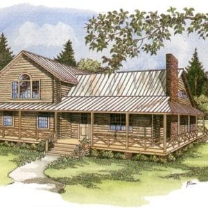 Heartland Log Home